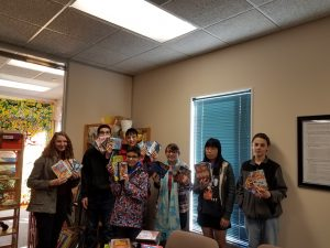 Youth Group Collects DVDs for Hospitalized Teens and Children
