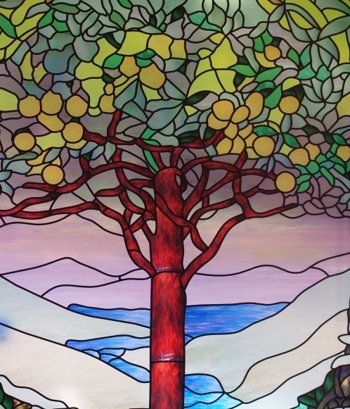 stained glass tree image